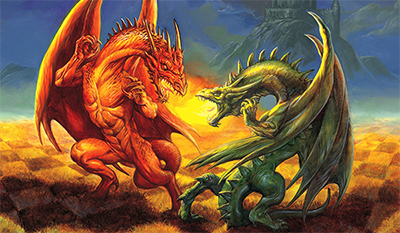 Original DragonChess® Painting For Sale